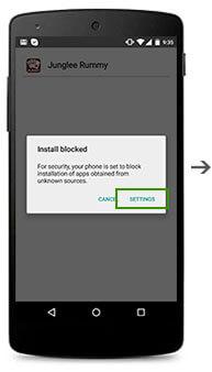 Rummy App Install
