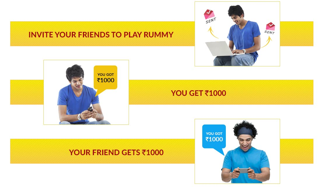Play with your Circle of Rummy Friends at Junglee Rummy