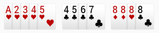 rummy invalid set
