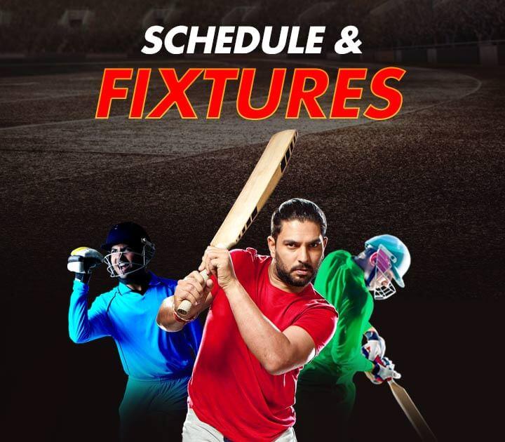 Cricket Match Schedule & Fixtures