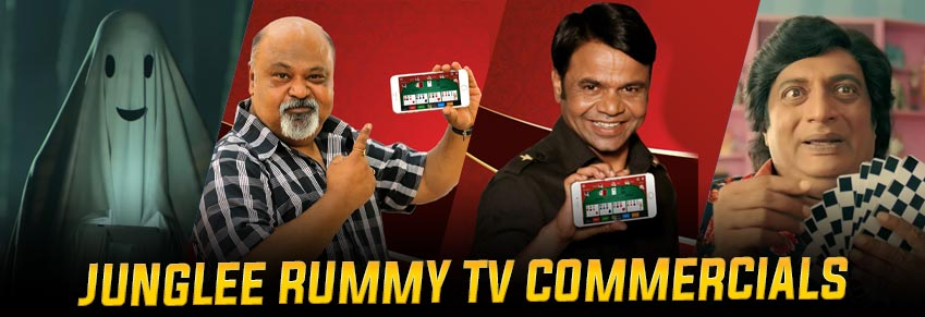 Junglee Rummy TV Commercials