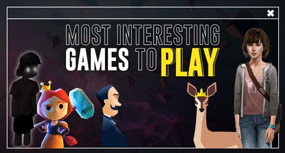 Interesting Games Online