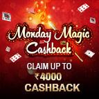 Monday Magic Cashback