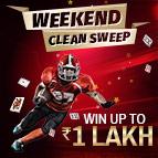 Weekend Clean sweep