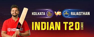 Kolkata vs Rajasthan Indian T20 League
