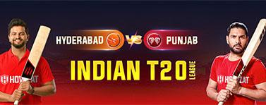 Hyderabad vs Punjab Indian T20 League