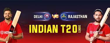 Delhi vs Rajasthan Indian T20 League