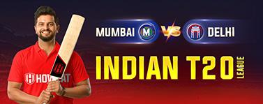 Mumbai vs Delhi Indian T20 League